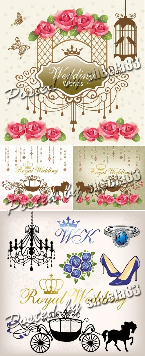 34 best wedding vector images on Pinterest Printables, Vector - best of luxury invitation vector