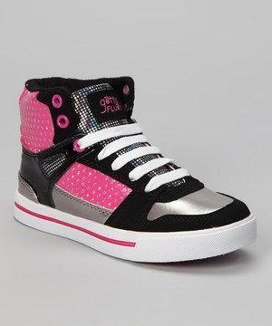 Love this Gotta Flurt Hot Pink Hip Hop Hi-Top Sneaker by Gotta Flurt on #zulily! #zulilyfinds