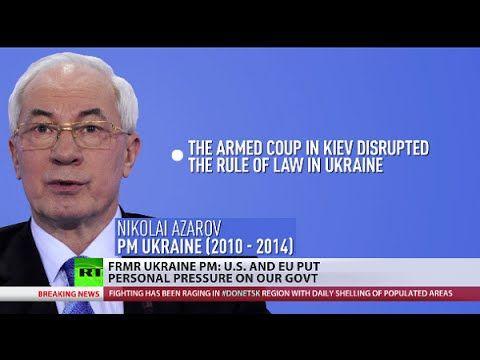 Ex Ukraine PM: West expected Yanukovich to die like Gadaffi
