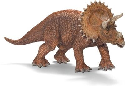 Schleich Dinosaur Triceratops -   20cm solid plastic toy dinosaur from Schleich, made to last and perfect as a collectable or a gift.