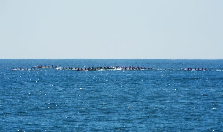 Outrigger long distance events are held in Mooloolaba