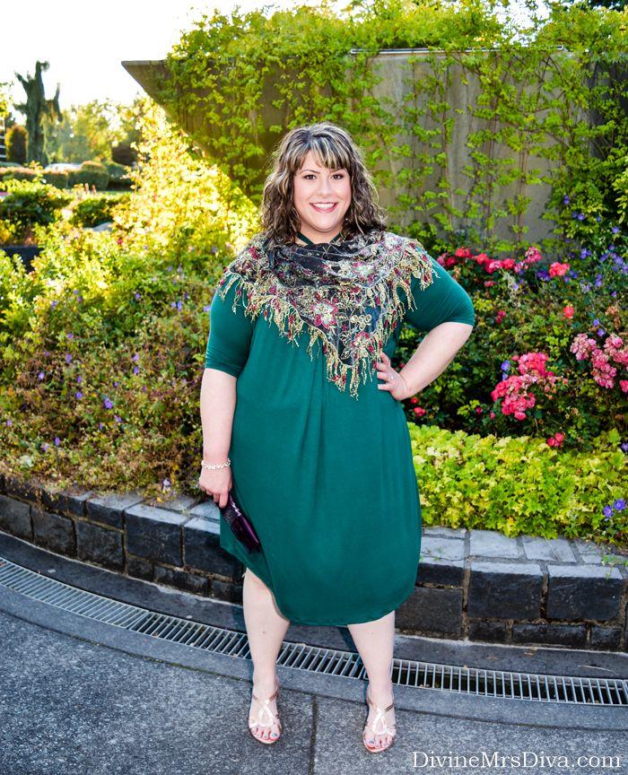 Reviewing Kiyonna's Serenade Swing Dress