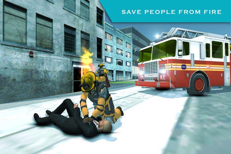 American FireFighter Simulator- screenshot