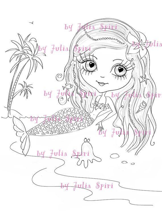Páginas para colorear Álbum de recortes Clip art por JuliaSpiri