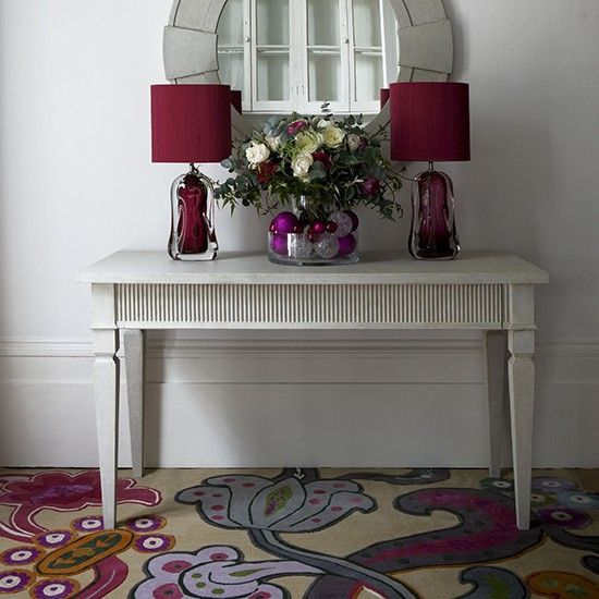 Love the carpet and color combos / | Entrance hall flooring | Housetohome.co.uk