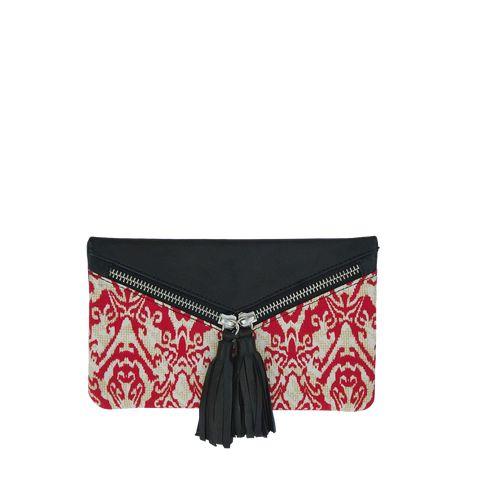 Sorayane - Leather and Indonesian Batik Wallet
