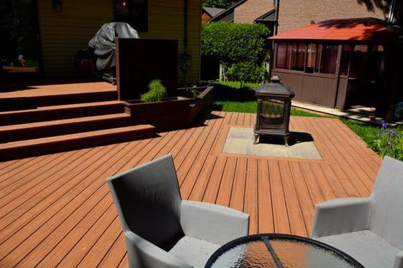 easy maintenance outdoor wood decking easy install,wood vs plastic