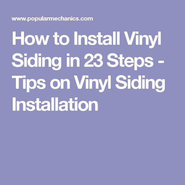Best 25 Vinyl Siding Installation Ideas On Pinterest