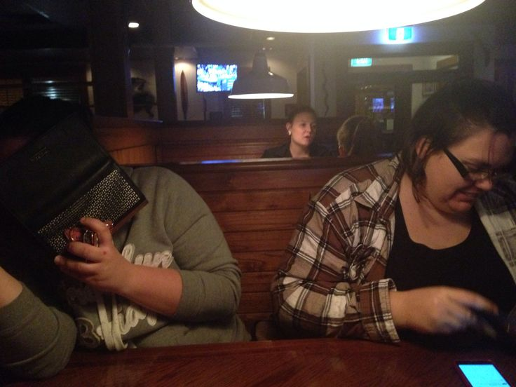 Outback after class with the peeps