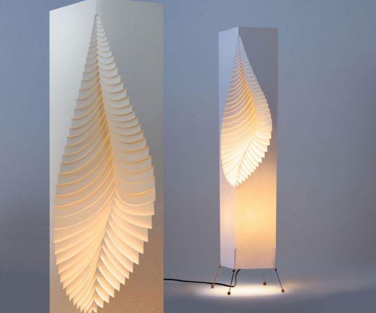 Designové lampy, osvětlení | MooDooLeaf - stojací lampa 110cm