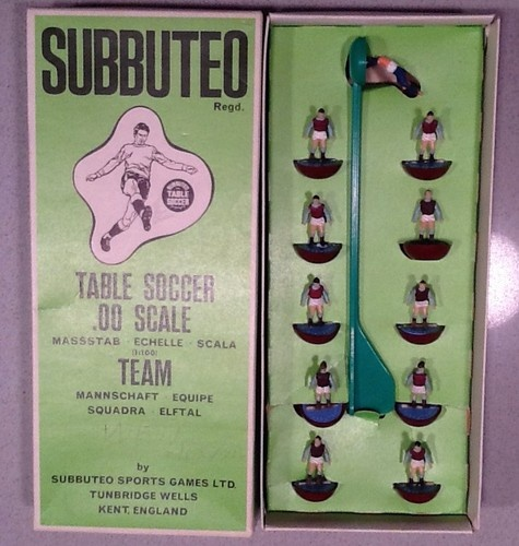 SUBBUTEO HW heavyweight Team ref 7 WEST HAM, ASTON VILLA