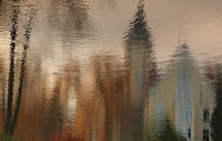 In autumn water mirror by Adam Konieczny on 500px