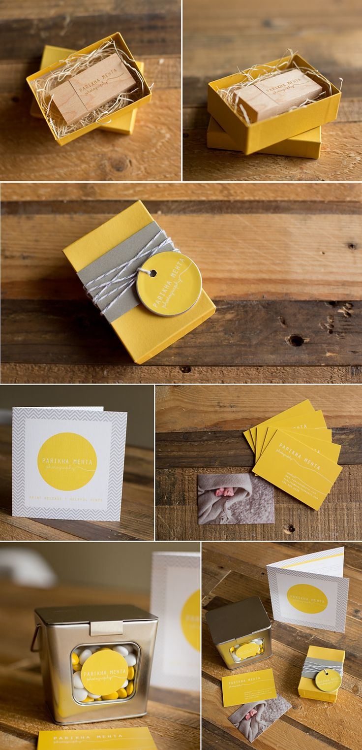 Simple great personal #branding #packaging of Parikha Mehta Photography PD