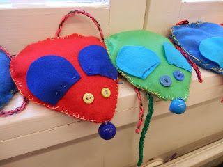Hernetäytteiset hiiret Pointti - Pollarin koulun blogi: Askartelu