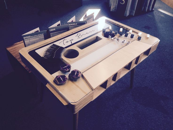Check out our retro cassette table!