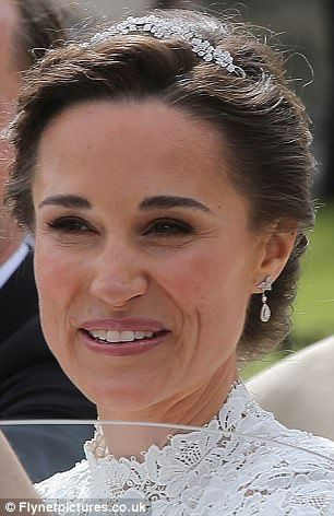 Something old? Pippa wore earrings she was given for Kate ...