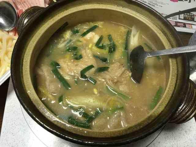 重曹で作る豆乳風鍋にの画像