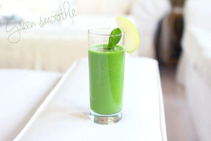 Oppskrift: grønn smoothie