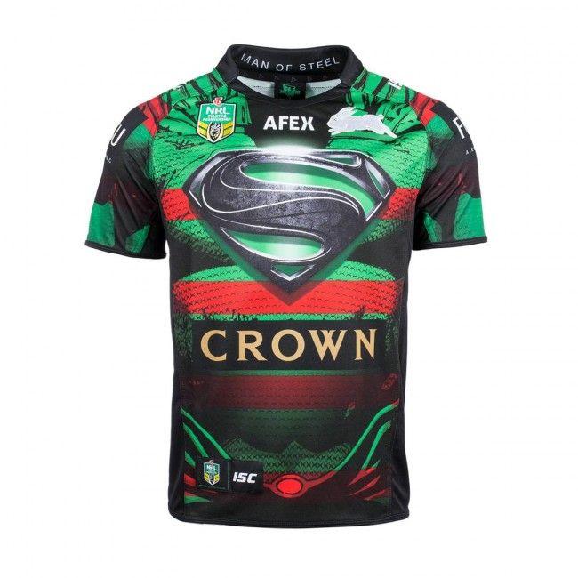 south sydney rabbitohs jerseys superman - Google Search