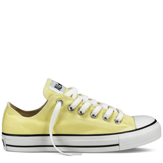 Light Yellow Converse