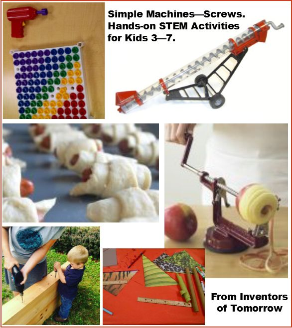 Prepare Your Child For Stem Subjects: 45 Best Images About Simple Machines For Preschool On