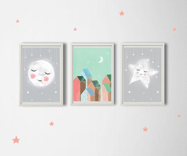 3 ilustracje dla dzieci A3