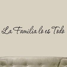 Spanish Proverbs About Family | family quotes and sayings in spanish family wall family quotes phrases ...