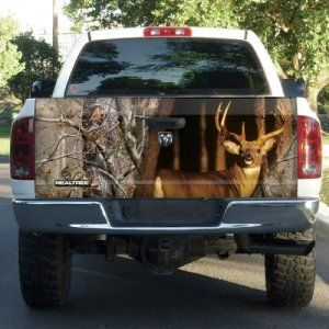 Realtree® Xtra Camo Tailgate Film | Truck Camo Accessoris on Wanelo