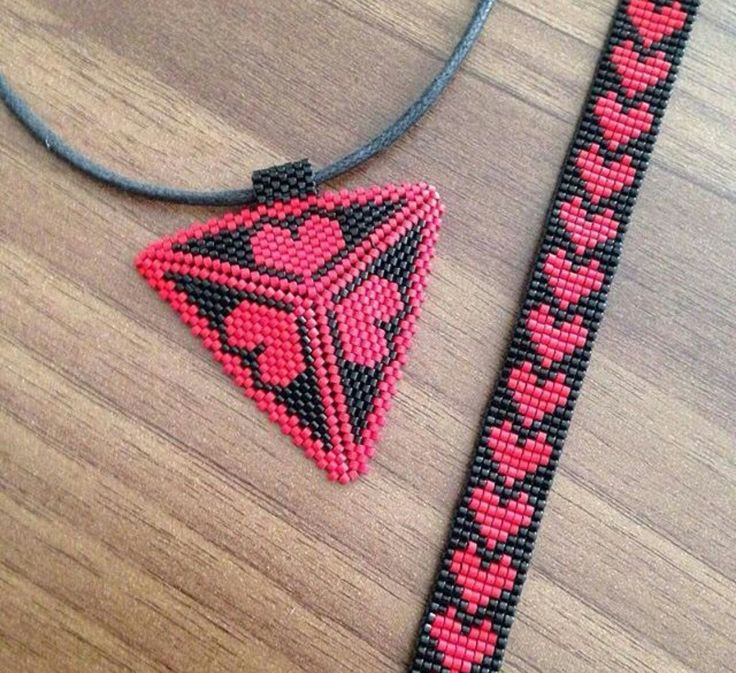 The bracelet pattern is really cool
