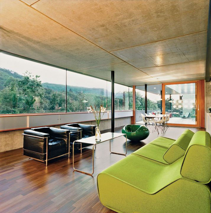 This Minimalistic, Energy Efficient Home In Zurich, Switzerland Uses  Geothermal Energy To Produce