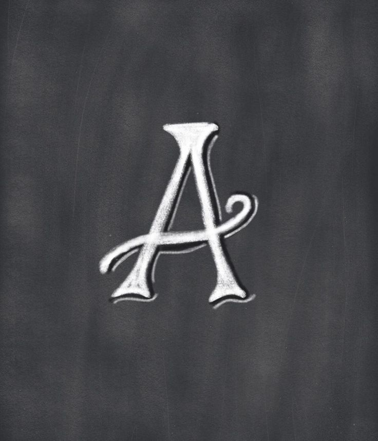 """Handlettered ABCs digital chalkboard - Robin/Handletter And Designer (@robinlynnedesigns) on Instagram: """"So stepping out trying to learn something new. Working on my digital chalk and trying new letter…"""""""
