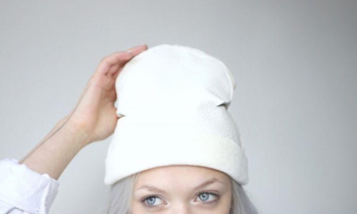 Кожаная шапка #DIY #fashionattack #шапка