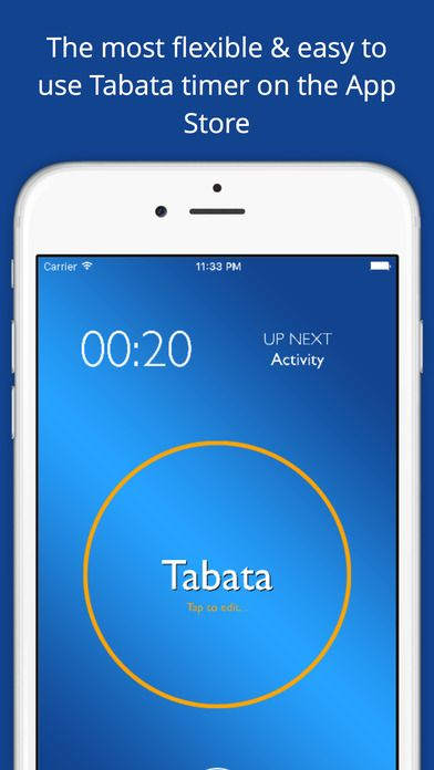 Totally Tabata Timer - 4 Minute Tabata Workout & HIIT Interval Training