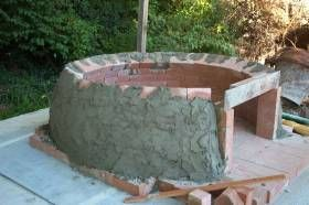 DIY Wood Fired Brick Oven free plans