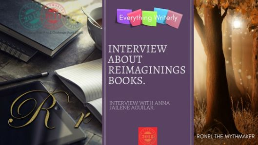 Interview about Reimaginings Books #AtoZChallenge | Ronel the Mythmaker