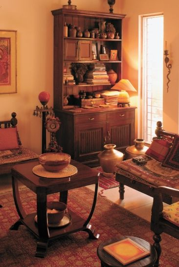 Geeta and Rajiv Chandran's family home in New Delhi is much more than an assemblage of spaces.