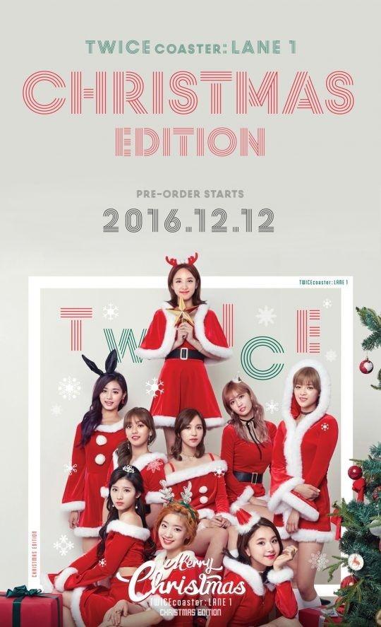 트와이스 '크리스마스 에디션' 앨범, 선주문량 11.5만장 돌파 :: 네이버 TV연예