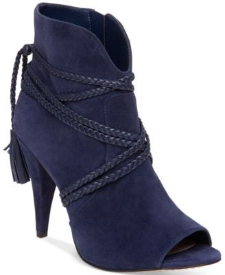 Vince Camuto Astan Braided-Strap Booties