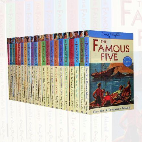 Enid Blyton FAMOUS FIVE Series 21 #Books Collection Set pack. AUTHOR : Enid Blyton  Age Level : Ages 9 - 12  Language : English  SUBJECT : Fiction  GTIN : 9781444925869. Shop now at: Foblit.com