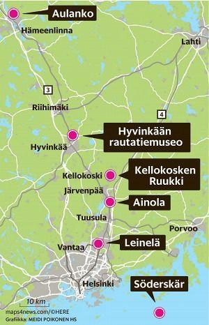 Lomat loppuvat, mutta vielä voi lähteä kesäretkelle – HS listasi kohteita noin tunnin matkan etäisyydellä Helsingistä - Lähimatka - Matka - Helsingin Sanomat
