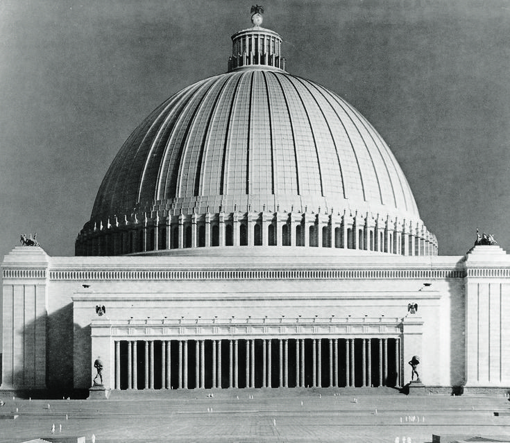 "The Unbuilt Nazi Pantheon: Unpacking Albert Speer's ""Volkshalle"""