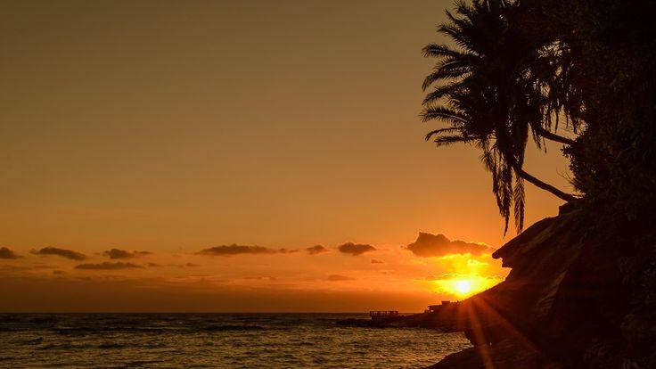 Uvongo Beach in Uvongo Beach, KwaZulu-Natal  Majestic Sunrises