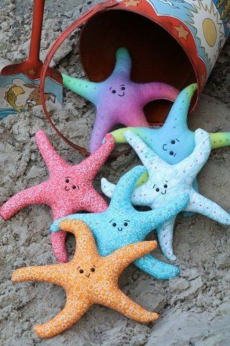 """Sea Stars"" designed by Jodie Carleton for Ric Rac."