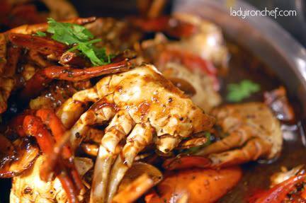Crab Buffet in Merchant Road, Clarke Quay area.