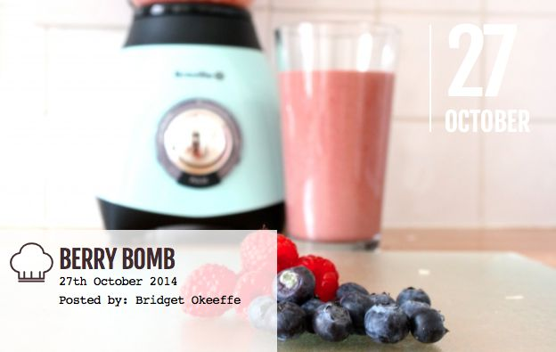Berries are a wonderful power food as they're packed with wonderful goodies that help to fight all the bad things that happen to your body just by living. Learn how to make this delicious Berry Bomb Smoothie by clicking the link here: http://bridalbeautyinsider.com/2014/10/how-to-make-a-berry-bomb/