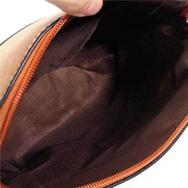 Women Nubuck Shell Bags Girls Vintage Shoulder Bags Crossbody Bags Messenger Bags