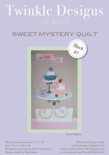 Sweet Mystery Quilt - Block #1