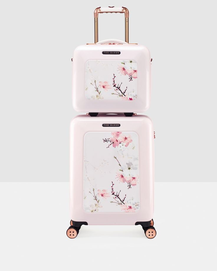 Oriental Blossom vanity case - Baby Pink | Bags | Ted Baker ROW #wedwithted @tedbaker. Love love love. X
