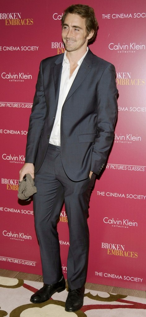 Lee Pace at the Cinema Society & Calvin Klein screening of Broken Embraces (2009)