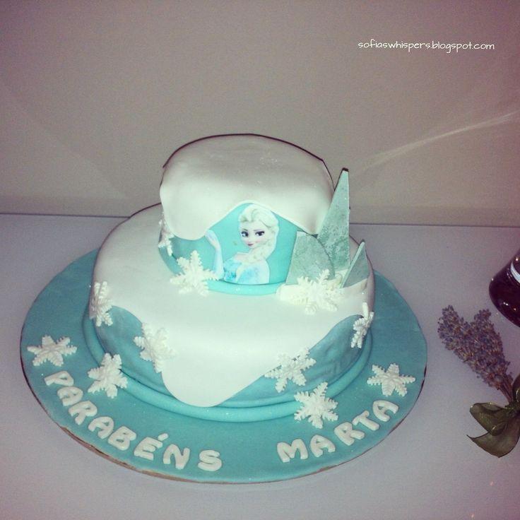 Frozen, cake design, frozen cake, birthday cake